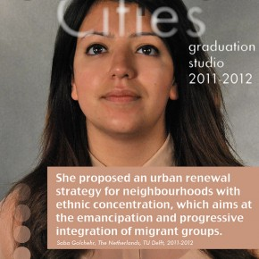 Saba Golchehr, of the Complex Cities Studio, wins the Metten Stein Design and Urbanism Award