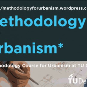 Subscribe to our BLOG Methodology for Urbanism