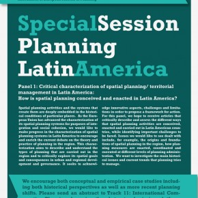 Special panel at AESOP 2014: Planning Latin America