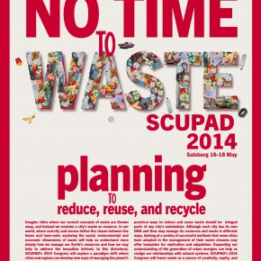 SAVE THE DATE: Working with waste for more sustainable cities: SCUPAD MAY 16-18 2014