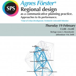 "Agnes Förster's lecture on ""Regional design as a communicative planning practice"""