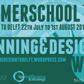 TU Delft Summer School Planning and Design with Water 2015