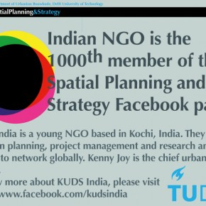Indian NGO, 1000th member of SPS Facebook page