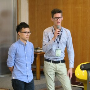 Urbanism students present in Taiwan