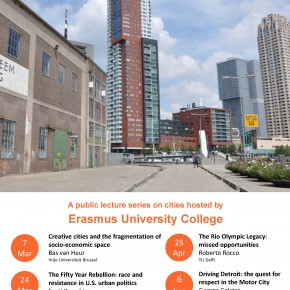 Rotterdam Urban Lectures: public lecture series on cities and urban issues