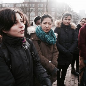 """SPS in Jane Jacobs Walk with IHS """"Urban Strategies and Planning"""" course"""