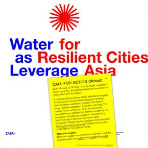 Winning entry to the competition 'Water as Leverage'