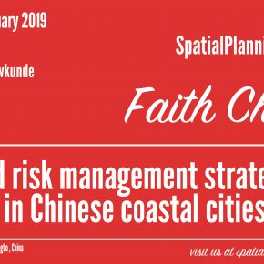 SPS Seminar: Faith Chan - Discovering flood risk management strategies in Chinese coastal cities, 24 January