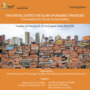 Training Event at the World Urban Forum, Abu Dhabi, TUE 11 FEB