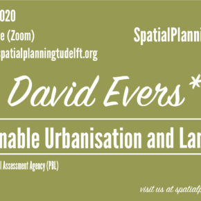(Online) SPS seminar with David Evers (PBL) - Sustainable Urbanisation and Land-use (ESPON SUPER), video and slides available