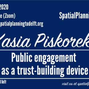 (Online) SPS Seminar with Kasia Piskorek - Public Engagement as a trust-building device - 16 June, 12:30 CET
