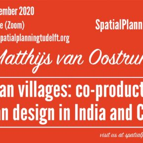 (Online) SPS Seminar with Matthijs van Oostrum on Urban Villages, 17 September, 12:30 CET