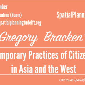 Video: SPS seminar with Gregory Bracken: Contemporary Practices of Citizenship in Asia and the West