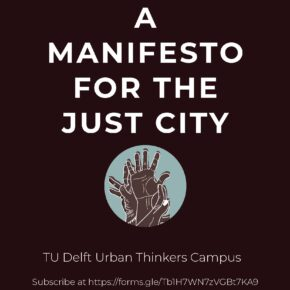 BOOK A Manifesto for the Just City launched!