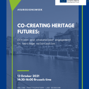 Interreg WaVE at #EURegionsWeek conference - join the participatory lab on co-creating heritage futures (13 Oct)